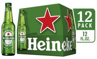 Heineken Lager, 12 pack, 12 fl oz bottles