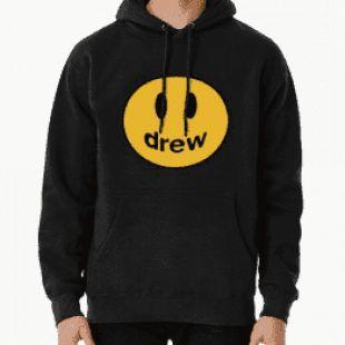 Black drew hoodie