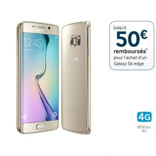 SAMSUNG - Galaxy S6 Edge 32Go or SGH-GALAXY-S-6-EDGE-32Go-OR