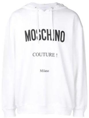 Moschino Sweat à Capuche à Logo Imprimé - Farfetch
