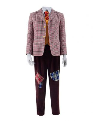 Joker 2019 Arthur Fleck Cosplay Costume Checkered Plaid Blazer Suit Full Set-in Movie & TV costumes from Novelty & Special Use on Aliexpress.com | Alibaba Group
