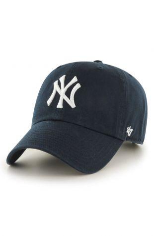 Clean Up NY Yankees Baseball Cap