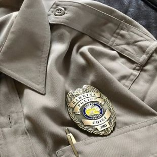 Stranger Things Chief Hopper Replica Cosplay Badge Stranger Things Chief Hopper Replica Cosplay Badge