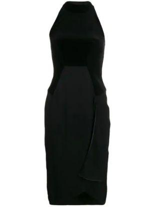 Cady and Velvet Halterneck Dress
