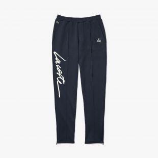 Jogging Lacoste x Moha La Squale avec broderie signature