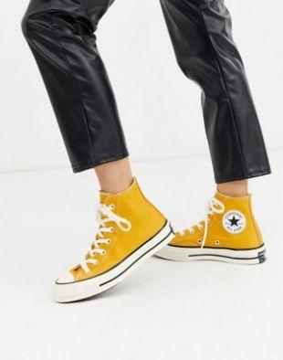 Converse - Chuck '70 Hi Sunflower - Baskets - Jaune