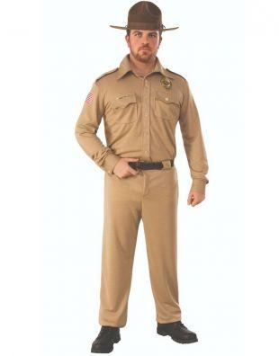 "Homme Jim Hopper des choses bizarres Costume Std poitrine taille 44"" Jambe 30-34"" 33""  | eBay"