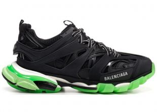 50mm w track glow in the dark sneakers - Black