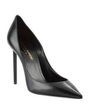 Zoe Leather Point Toe Pumps