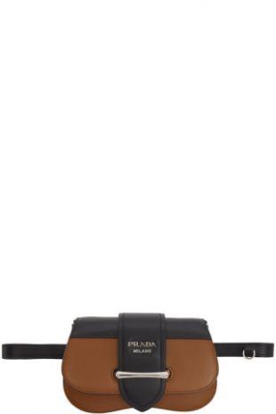 Prada - Brown Small Sidonie Belt Bag