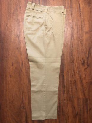 Vintage BIG MAC coton mélange twill kaki Tan chinos pantalon | 31 x 27 | Ligue de lierre trad