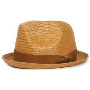 - Chapeau Paille Castor Copper Brun