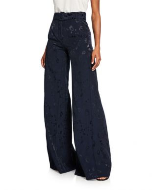 Donira Bengal High-Waist Pants