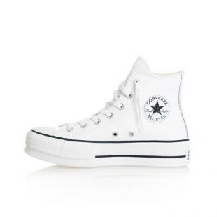 SNEAKERS WOMAN  CONVERSE CHUCK TAYLOR ALL STAR LIFT CLEAN HI 561676C SHOES WOMAN  | eBay