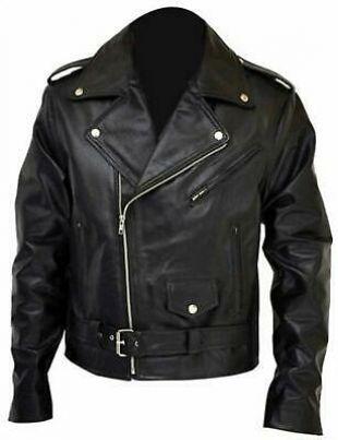 Arnold Schwarzenegger Terminator Leather Jacket