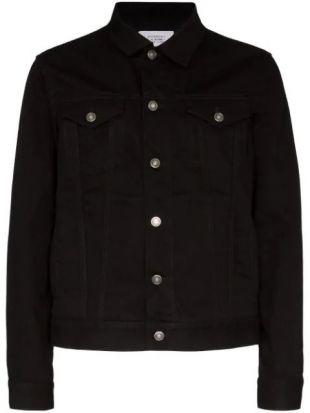 Veste En Denim à Logo Brodé Givenchy