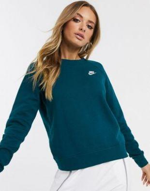 Nike - Essentials - Sweat-shirt ras de cou - Bleu foncé | ASOS