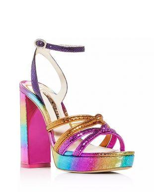Women's Freya Embellished Platform Sandals