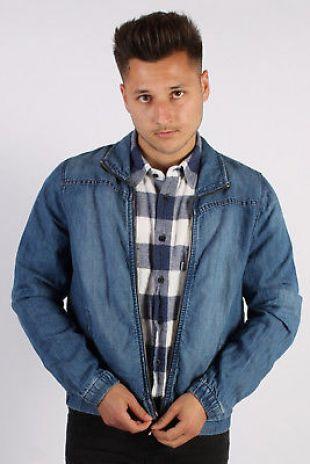 Vintage Tommy Hilfiger Lightweight Denim Shirt Jacket - L Blue - DJ1353 | eBay