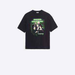 Tee Shirt Speedhunters Noir pour Femme | Balenciaga
