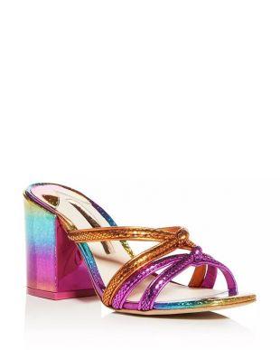 Freya Embellished Platform Sandals