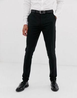 ASOS DESIGN - Pantalon de costume ultra skinny - Noir | ASOS