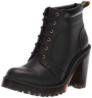 Dr. Martens Women's Averil Fashion Boot, Black, 6 M UK (8 US)