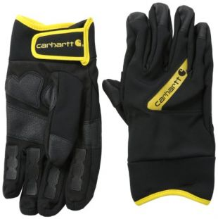 Carhartt Men's Sledge Hammer, Black/Yellow, Medium
