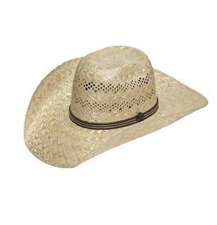 ARIAT Men's Sisal Band Hat, Natural, 7 3/8