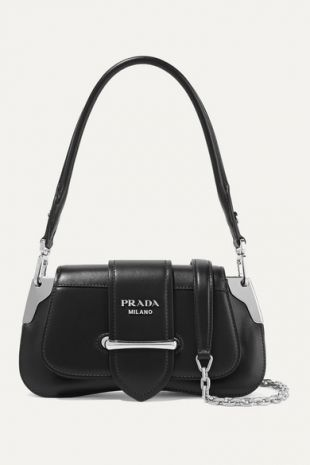 Sidonie Mini Leather Shoulder Bag