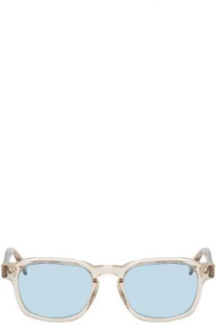 RETROSUPERFUTURE - Lunettes de soleil transparentes et bleues