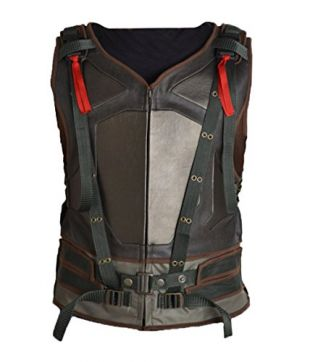 MSHC Hardy Tactical Bane Military Vest Faux Leather V2 (SMALL) Tom's Green