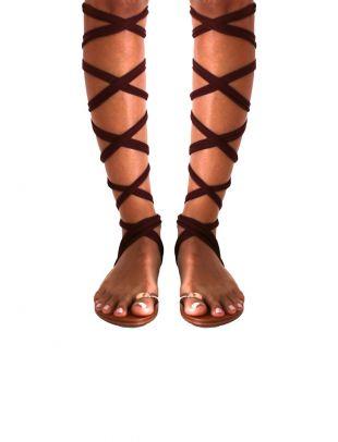 Les sandales à lacets de Zuleyka Rivera dans Despacito | Spotern