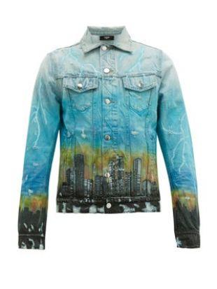 City Dragon Denim Jacket