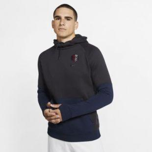 Sweat à capuche en tissu Fleece Paris Saint-Germain pour Homme. Nike FR