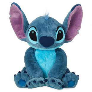 Flounder Stuffed Animal, Plush Giant Stitch Stitch In Lilo And Stitch Spotern