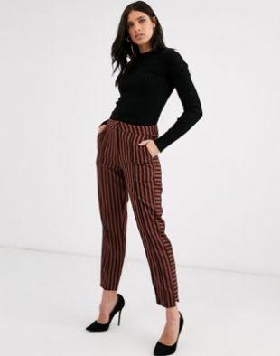 Y.A.S - Pantalon fuselé à rayures | ASOS