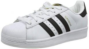 Adidas Originals BlackWhite Men's Superstar Sneaker of