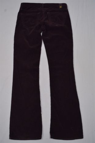 AG Adriano Goldschmied Size 28 Brown Corduroy The Angel Boot Cut Cords Pants | eBay
