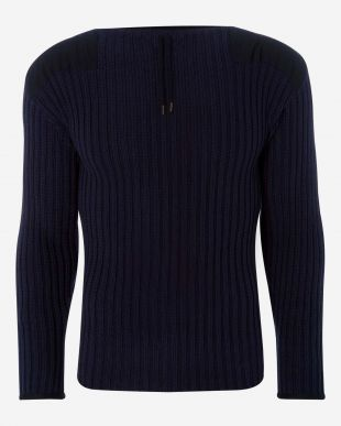 007 Ribbed Army Sweater