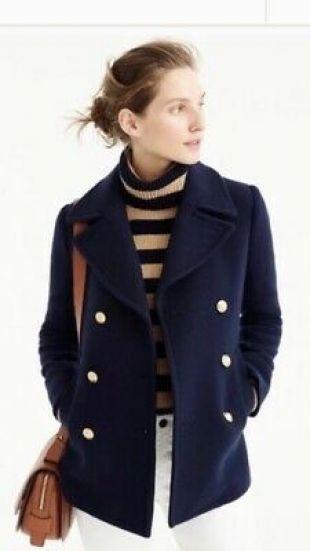Navy Coat Jacket