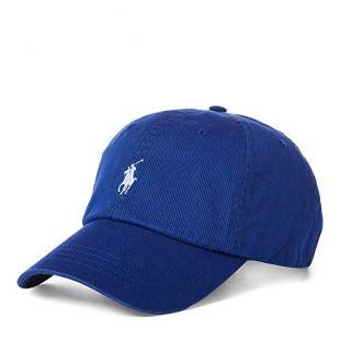 Ralph Lauren - Casquette Baseball en Coton Chino - Bleu Heritage Royal