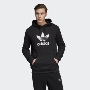 Hoodie adidas trefoil worn by Mister V on the account