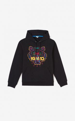 Sweatshirt à capuche Tigre   Kenzo