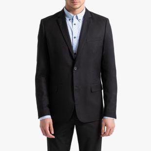 Veste de costume coupe droite