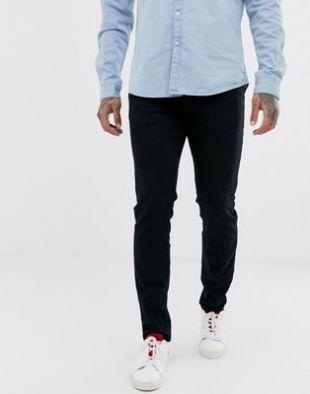 Selected Homme - Jean slim en coton biologique - Noir délavé | ASOS