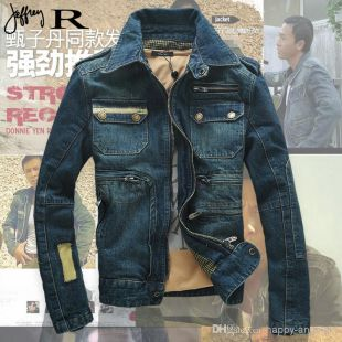 Spring Autumn Men Denim Jacket Men Fashion Casual Loose Cotton Jeans Casual Coat Overcoat Plus Size M Xxxl Oversized Jacket Womens Styles Of Jackets From Happy Angelet1, $68.35| Dhgate.Com