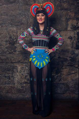 Inspiré Katy Patra Katy Perry Egyptian Costume   Dark Horse Video   Custom Made