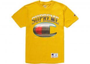 Supreme Champion Chrome S/S Top Gold