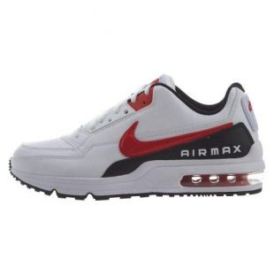 White and red Nike Air Max sneakers of D Smoke in Rhythm +